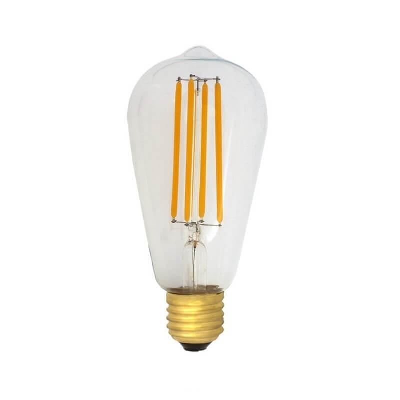 Bombilla LED Edison 6w E27 Filamento
