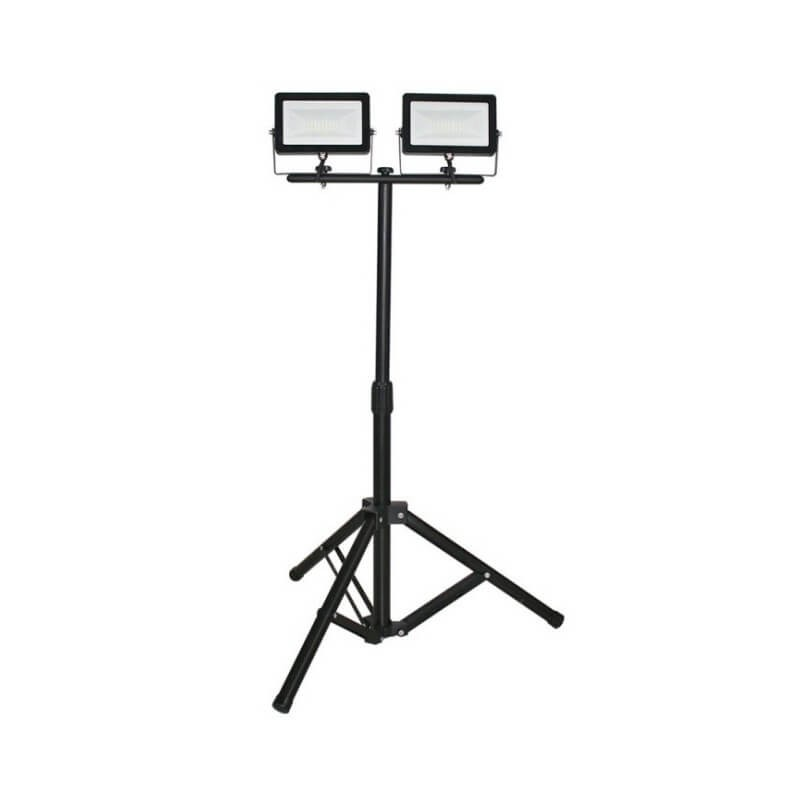 Trípode Proyector LED Negro