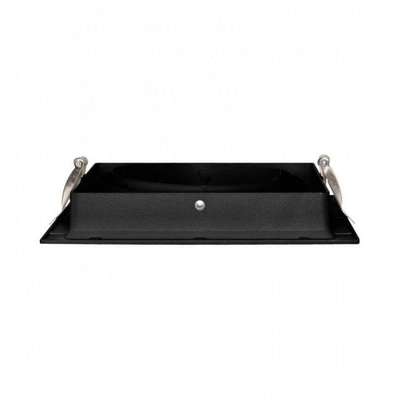 Foco Cardan Slim AR111 Simple Negro