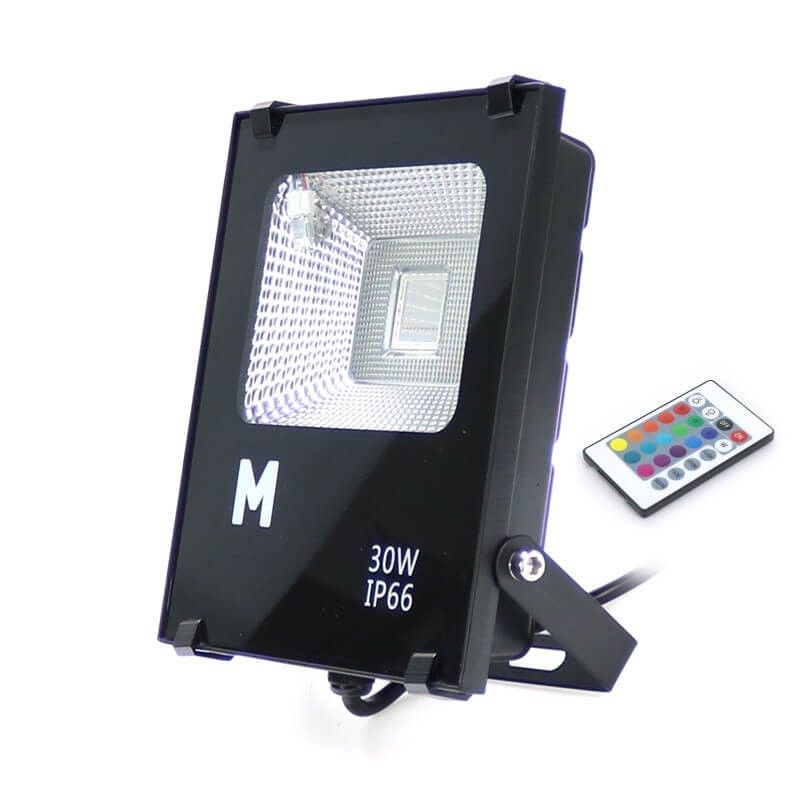 Proyector LED RGB 30w Exterior IP66