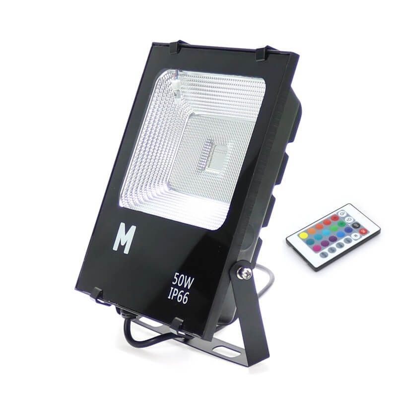 Proyector LED RGB 50w Exterior IP66